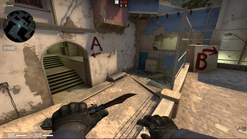 Скамейка на карте «Mirage» - новый элемент, заслуживающий отдельного внимания