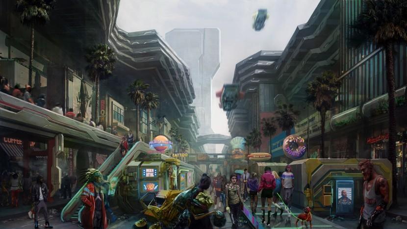 Cyberpunk 2077 Район Хейвуд - прохождение дополнительных заданий