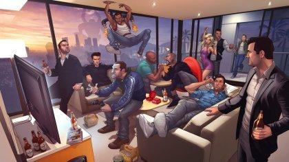 Grand Theft Auto V. Особенности игры