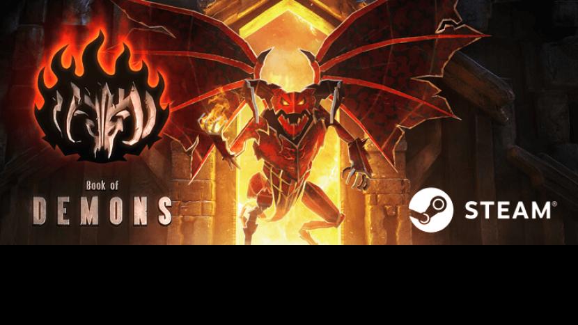 Обзор (Рецензия) Book of Demons – «Diablo в инди-обёртке»