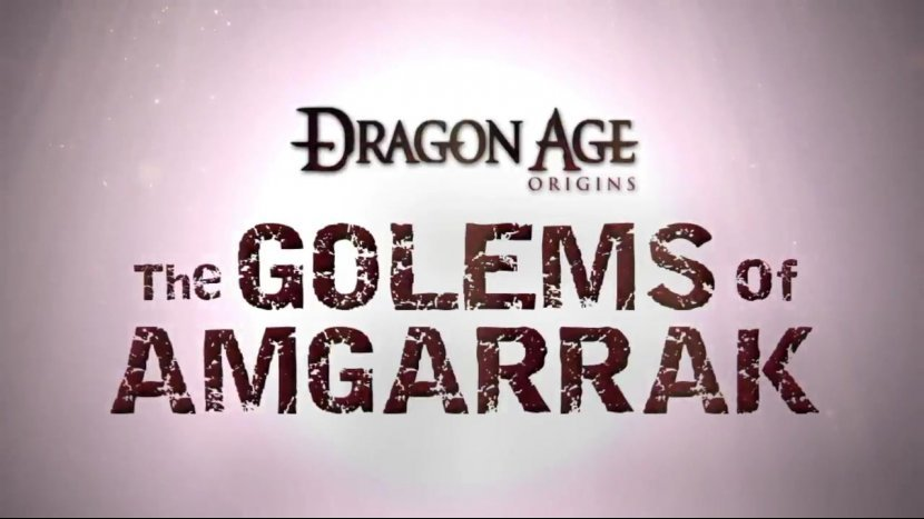 Прохождение Dragon Age: Origins DLC - Големы Амгаррака