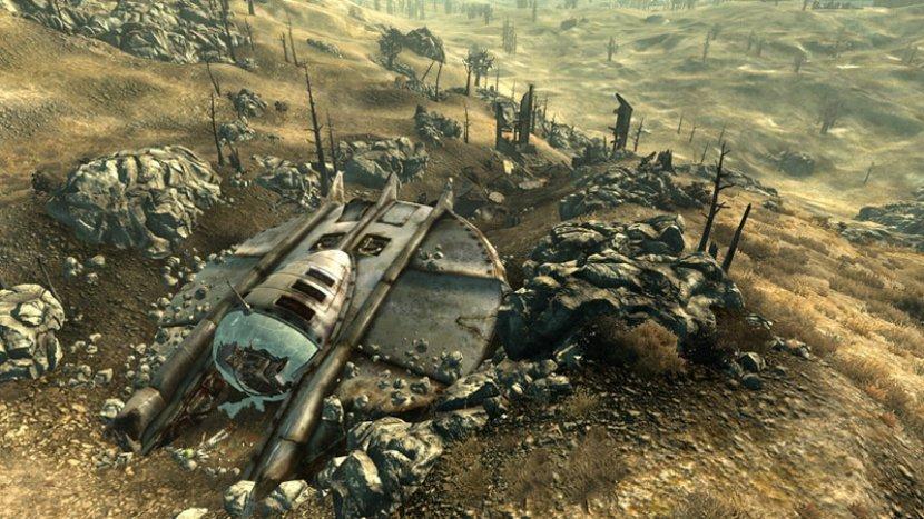 Прохождение Fallout 3: Mothership Zeta