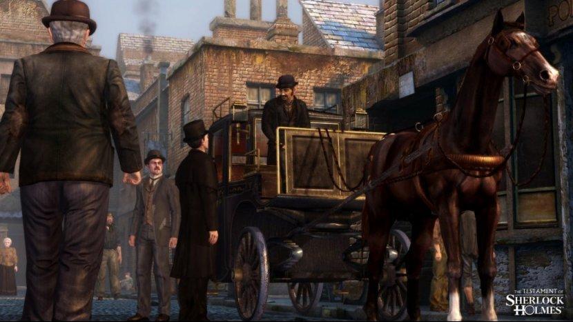 Прохождение игры The Testament of Sherlock Holmes. Часть 1