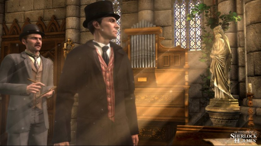 Превью игры The Testament of Sherlock Holmes