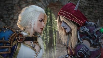 Косплей Джайна и Сильвана — World of Warcraft