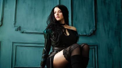 Косплей Йеннифер из The Witcher 3