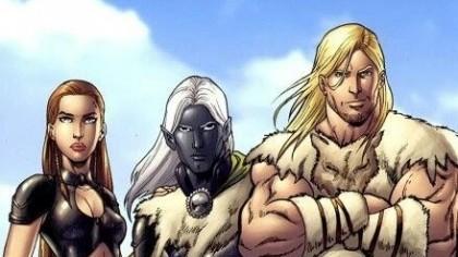 Дриззт VS Вульфгар в Baldur's Gate Big World Project и книгах Сальваторе