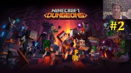Minecraft Dungeons Прохождение - Ещё немного Майнкрафта #2