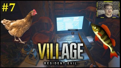 Resident Evil Village Прохождение - Охота и рыбалка в деревне #7