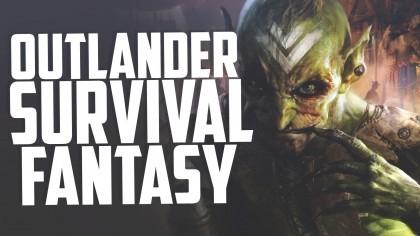 Угарные гоблины нюхают большой глаз и лежат как тупни в Outlander Fantasy Survival