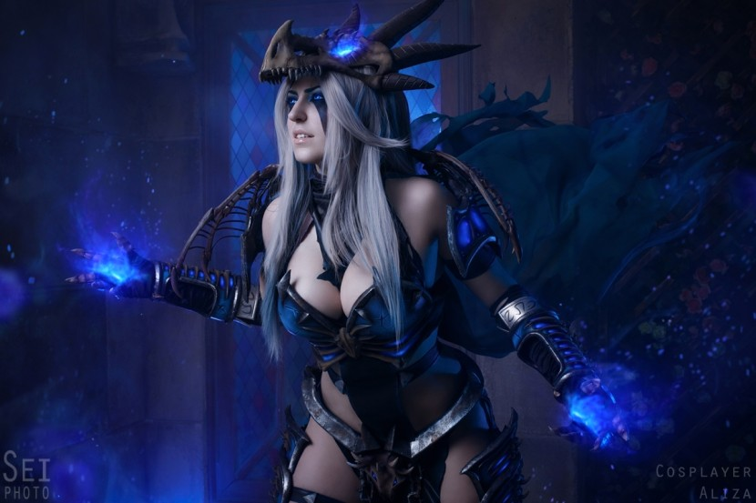 Косплей Синдрагоса — World of Warcraft
