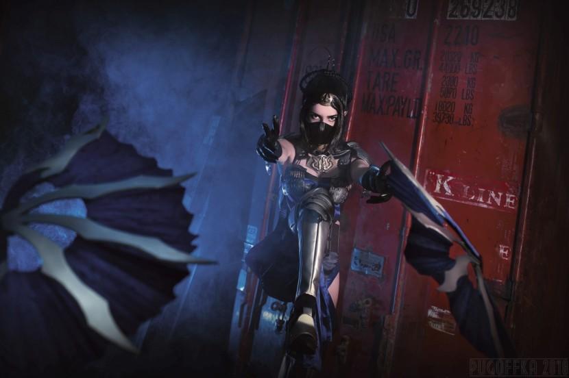 Косплей Китана — Mortal Kombat X