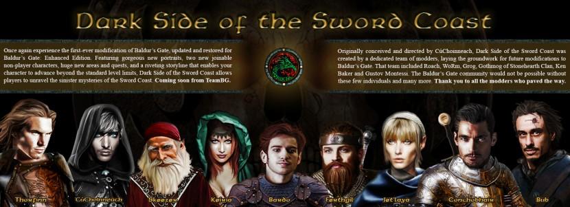 Baldur's Gate #28: Мод Dark Side of the Sword Coast - Первый взгляд