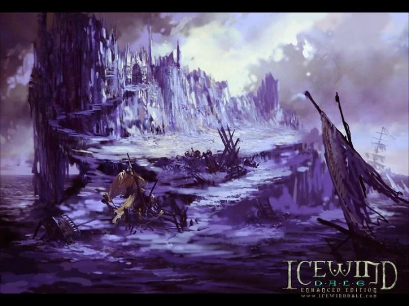 Icewind Dale #8 Дурдом в эльфийских развалинах - сетевая вдвоем