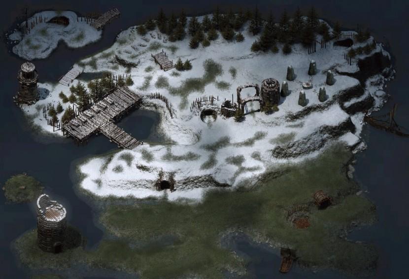 Icewind Dale: Heart of Winter - Убийство Mebdinga и позорный побег с Погребального острова #4