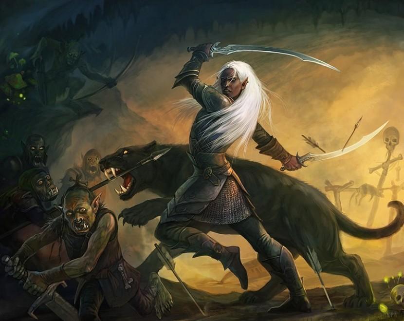Baldur's Gate BWP: Сага о Дзирте: Первый стрим и дуэли великих героев