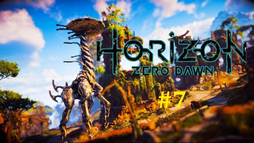 Horizon Zero Dawn Прохождение - В поисках вождя Соны #7