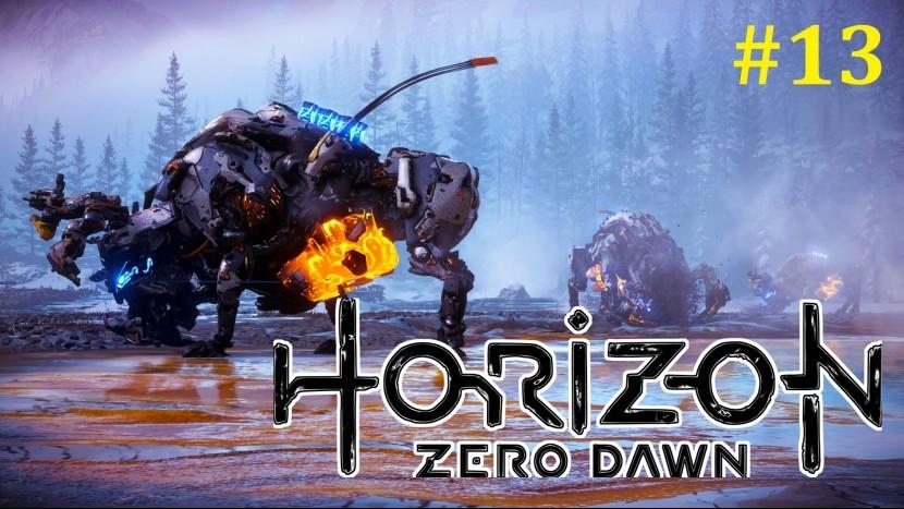 Horizon Zero Dawn Прохождение - Гигантские бизоны #13