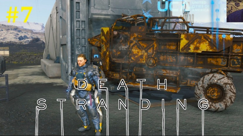 Death Stranding Прохождение - Озерный узел #7