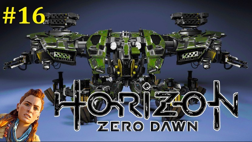 Horizon Zero Dawn Прохождение - Много информации #16