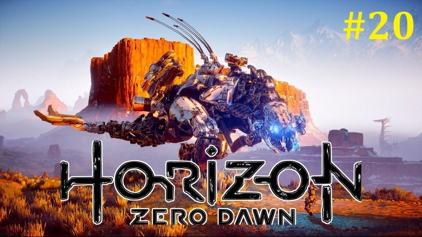 Horizon Zero Dawn Прохождение - Битва с Громозевом #20