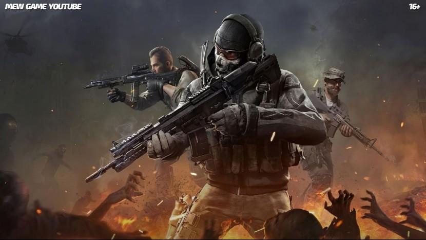 ВНИМАНИЕ! Много нецензурных фраз! Call of duty mobile: Королевская битва Battle Royale MEW game