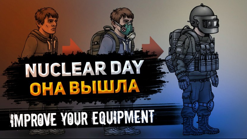 Nuclear Day Первый взгляд Вышла новая игра про выживание на андроид в постапокалиптическом мире 2021