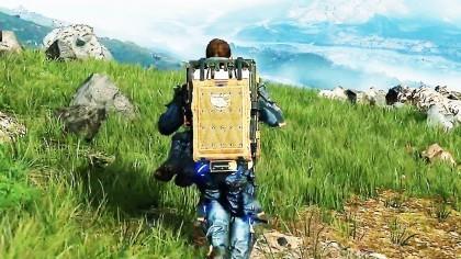 Как выглядит геймплей в Death Stranding?