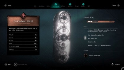 Assassin's Creed: Valhalla - Wrath of the Druids - как получить щит Ку Чулинн