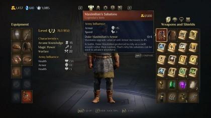 King's Bounty 2 – лучшее (легендарное) оружие, доспехи и предметы