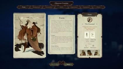 Book of Travel: Создание персонажа