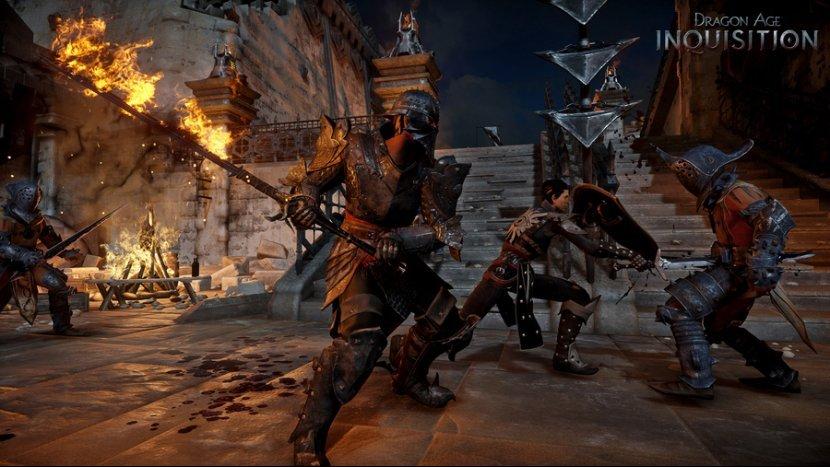 Боевая система и сражения в Dragon Age: Inquisition