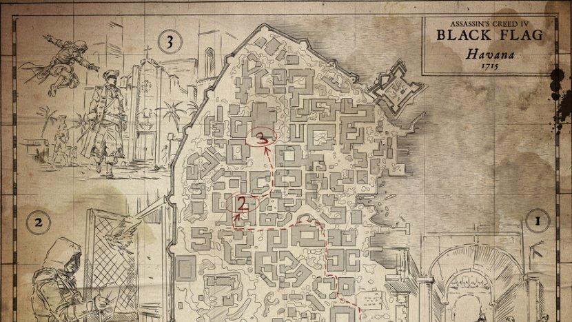 Чертежи в Assassin's Creed IV: Black Flag