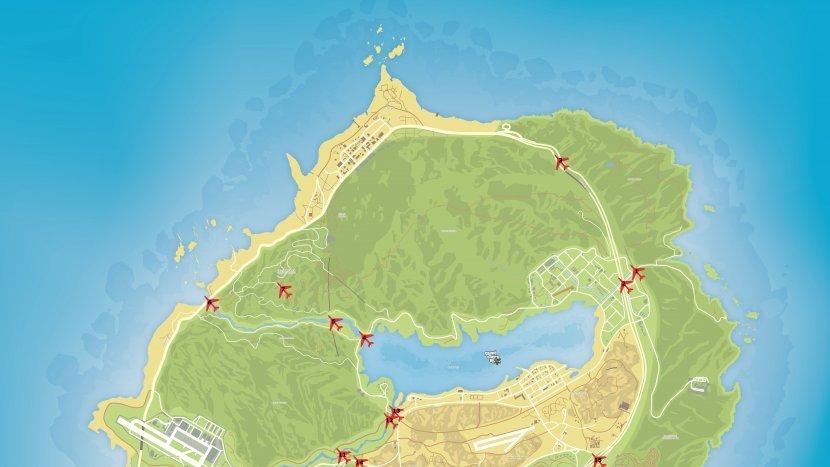 GTA V - Карта мостов