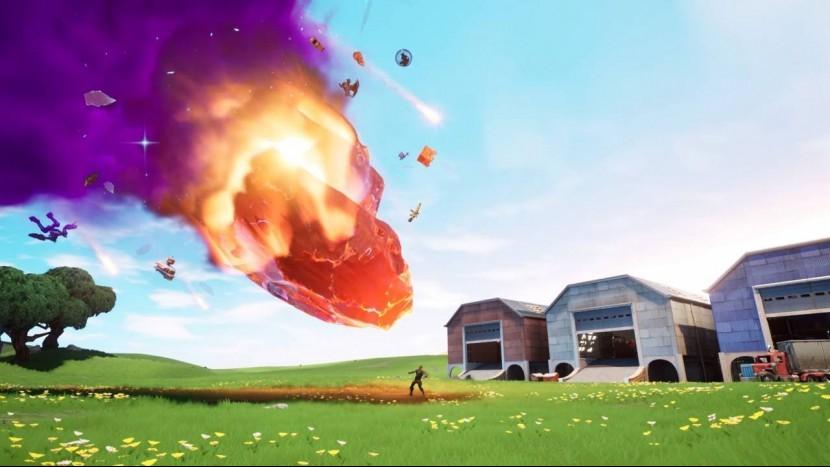 Как карта Fortnite изменилась в 10 сезоне: зоны разломов, комета, скелет и многое другое