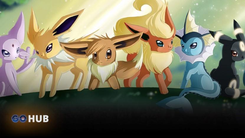 Гайд: Как получить любую эволюцию Eevee в Pokemon Go