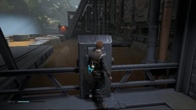 Как установить механизм на планете Кашиик в игре Star Wars Jedi Fallen Order?