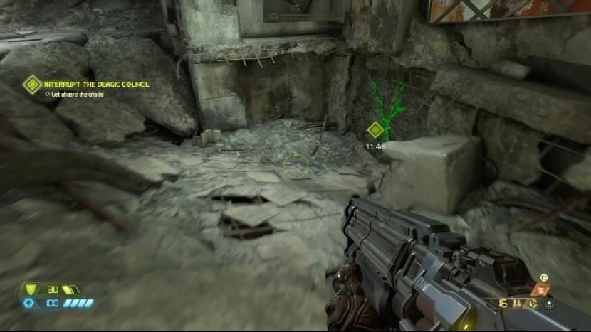Крепость Doom-a (Doom Eternal) - все секреты и предметы коллекционирования