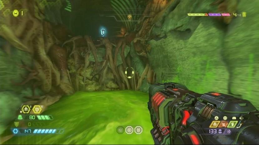 Гнездо супер Гора (Doom Eternal) - все секреты и предметы коллекционирования