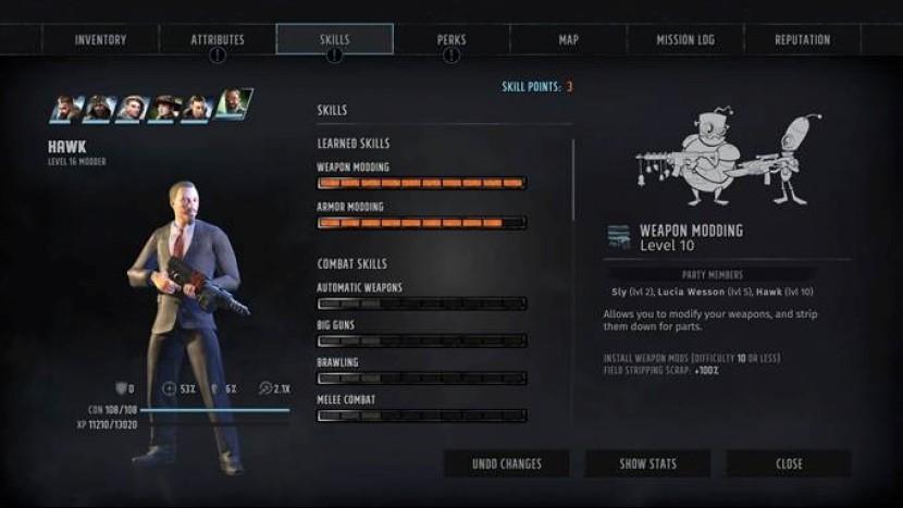 Как модифицировать оружие в Wasteland 3?