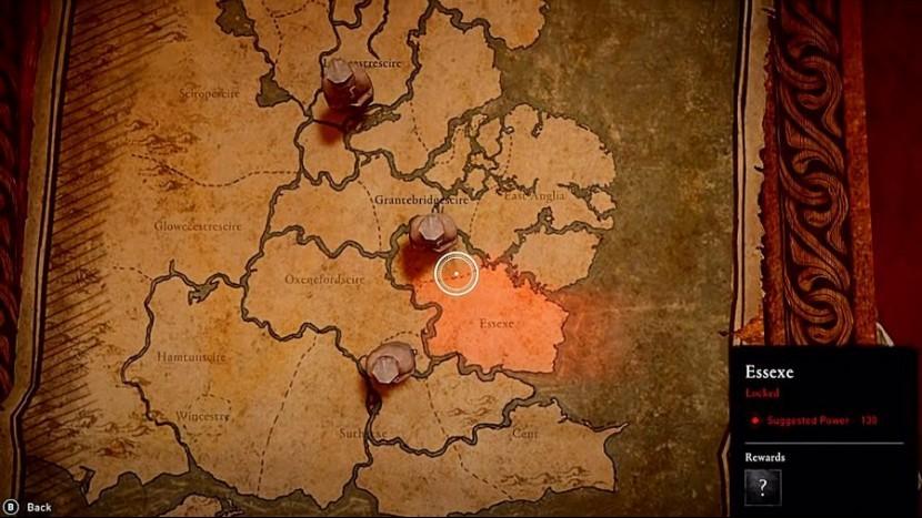 Assassin's Creed: Valhalla - расположение сокровищ на карте