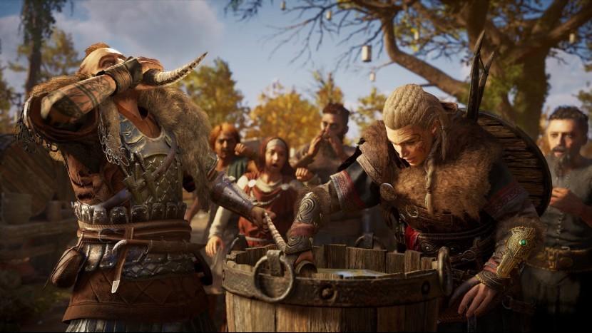 Assassin's Creed: Valhalla мировые события (прохождение дополнительных квестов)