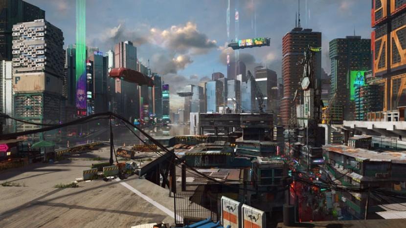 Cyberpunk 2077 - Районы Ночного Города
