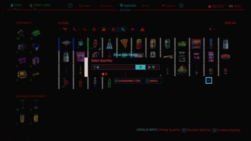 Cyberpunk 2077 – Как заработать неограниченное количество денег и опыта крафта