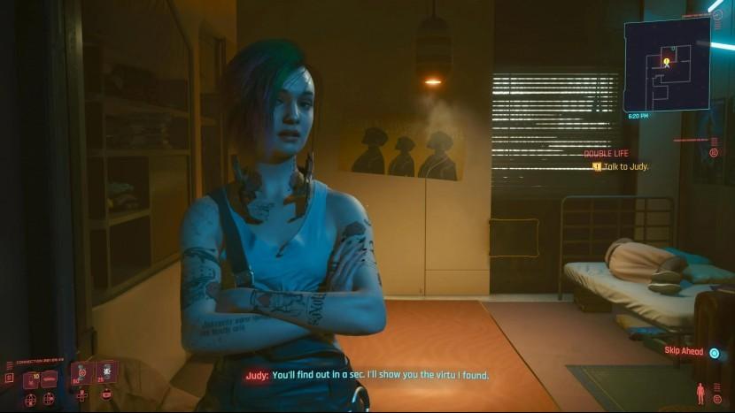 Джуди Альварес Cyberpunk 2077 - как завести роман