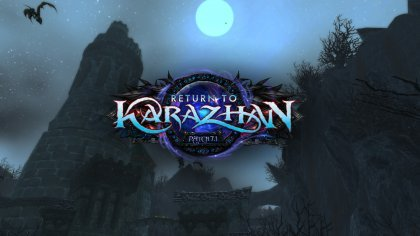 В конце октября для World of Warcraft выйдет обновление под названием «Return to Karazhan»
