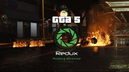 Более десятка новых скриншотов из мода «Redux» для GTA V