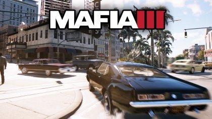 Свежий геймплей Mafia III демонстрирующий поведение автомобилей