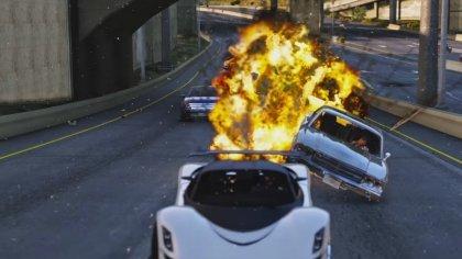 Опубликован видеоролик демонстрирующий спецэффекты модификации «GTA V: Redux»