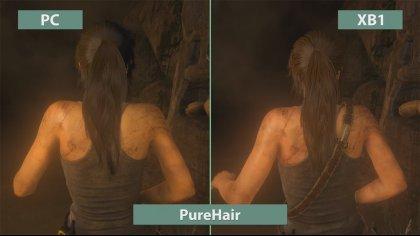 Опубликован видеоролик сравнения качества графики Rise of the Tomb Raider